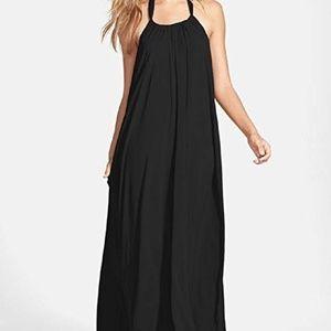 ELAN Halter Cover Up Dress-SMALL